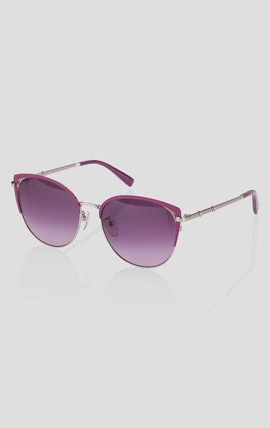 Cat-Eye Metal Sunglasses - ESCADA