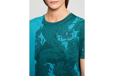 Floral Placement T-shirt - ESCADA