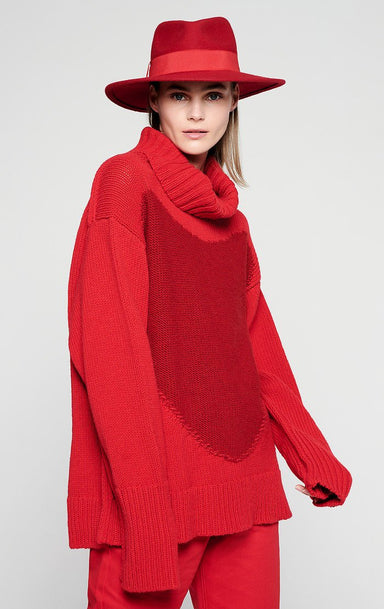 ESCADA Wool Roll Neck Sweater