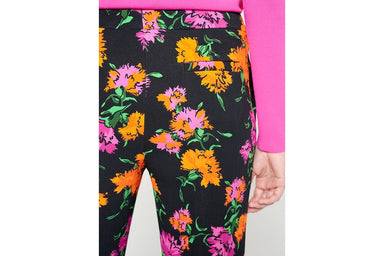 ESCADA Cropped Floral Pants