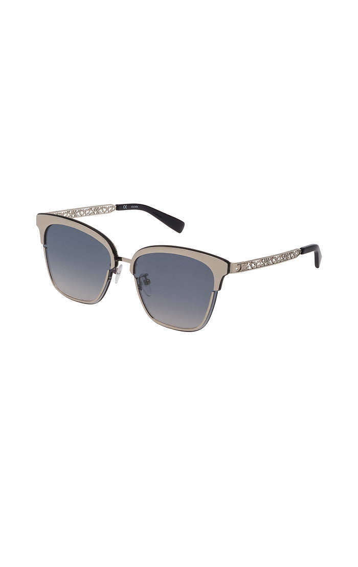ESCADA Silver Lace-Effect Sunglasses