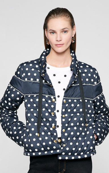 Printed Nylon Down Jacket - ESCADA