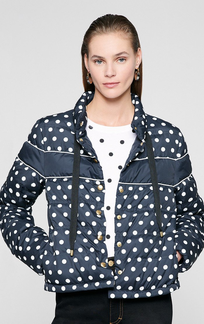 ESCADA Printed Nylon Down Jacket