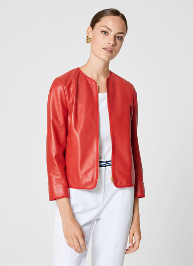 ESCADA Leather Jacket