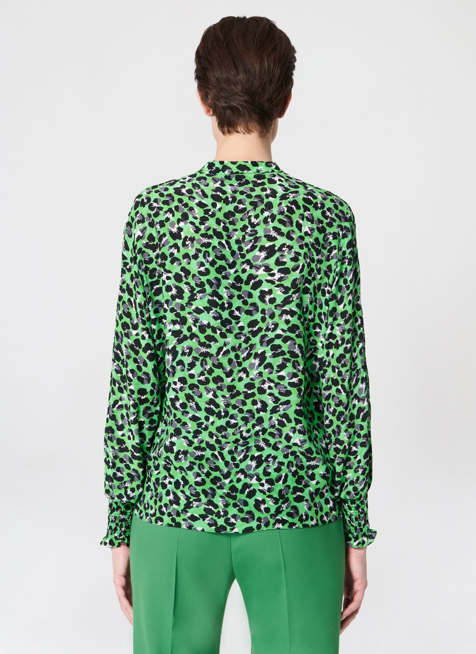 ESCADA Printed silk georgette blouse