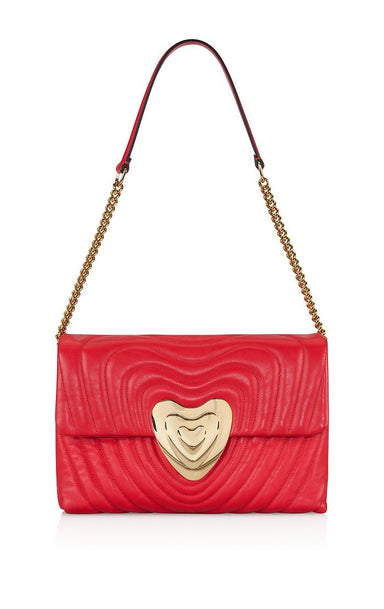 ESCADA Medium Leather Heart Bag