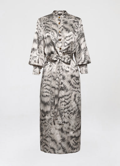 Printed silk shirt dress - ESCADA