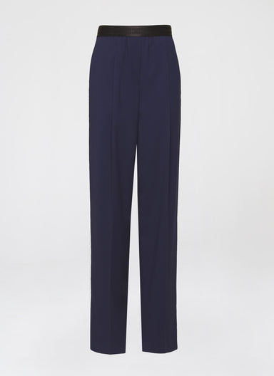 Fluid Logo Tape Pants - ESCADA