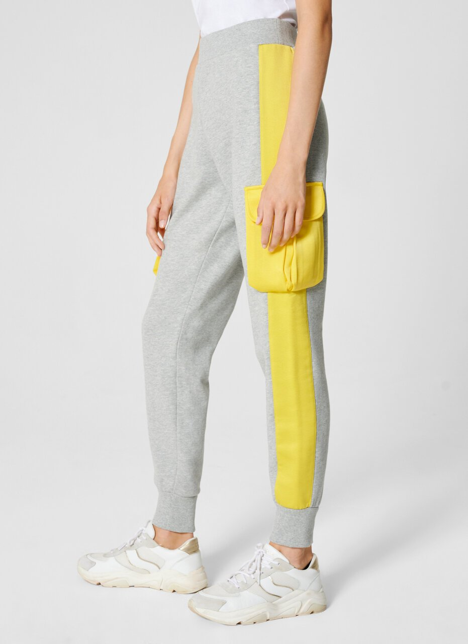 Two-Tone Jersey Cargo Pants - ESCADA