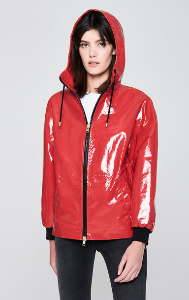 ESCADA Glossy Nylon Rain Jacket