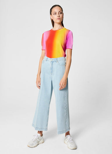 Cropped Wide Leg Jeans - ESCADA