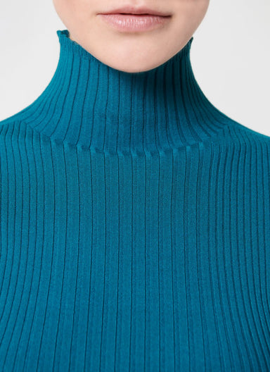 Viscose Blend Turtle Neck Top - ESCADA
