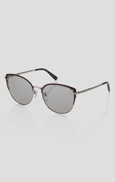 Cat-Eye Mirrored Sunglasses - ESCADA