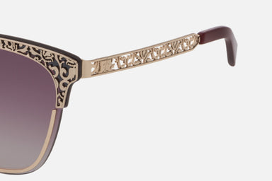 Gold Lace-Effect Sunglasses - ESCADA