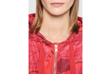 ESCADA Printed Nylon Hooded Jacket