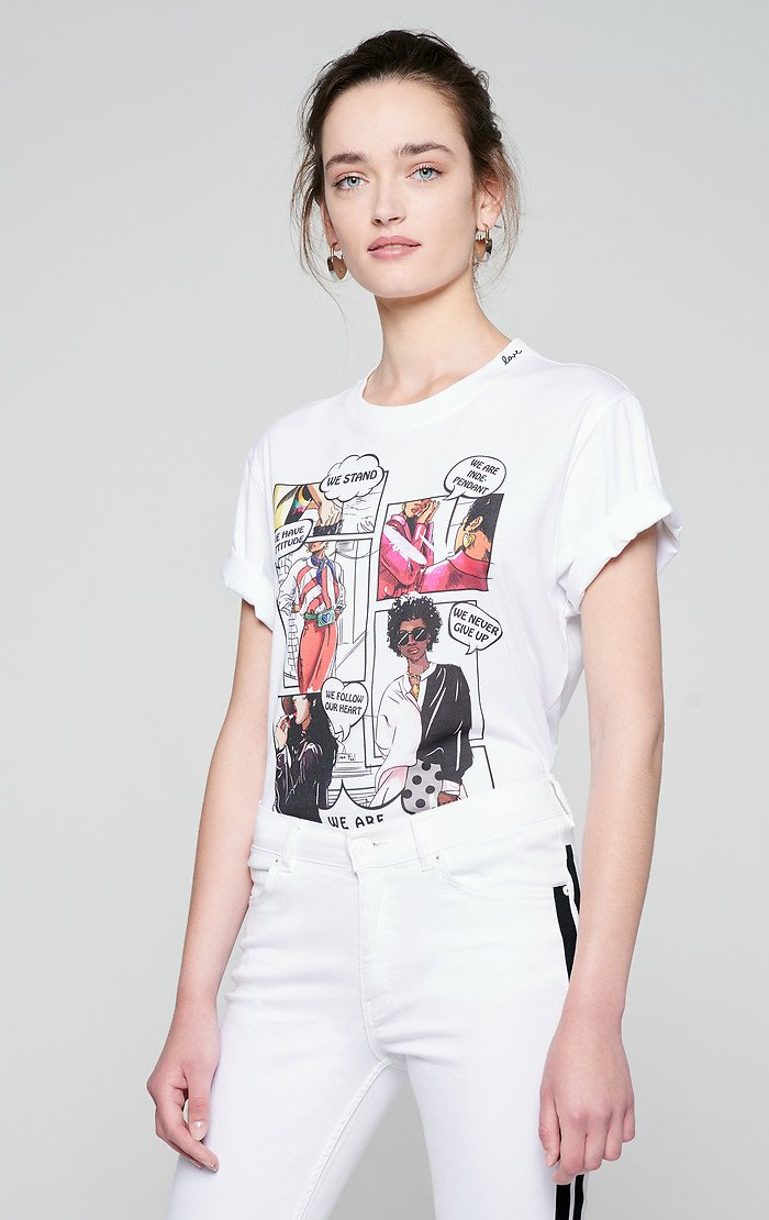 ESCADA Comic Print T-shirt