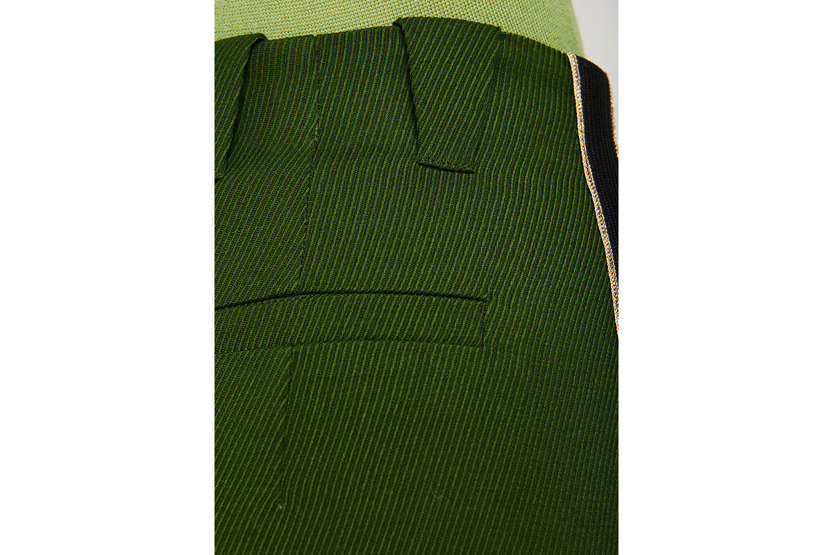 Wool Side Stripe Pants