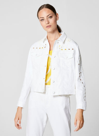 Broderie Denim Jacket - ESCADA