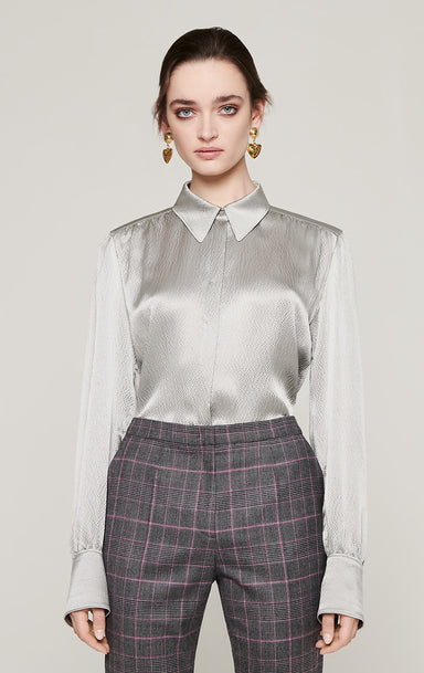 ESCADA Silk Satin Blouse