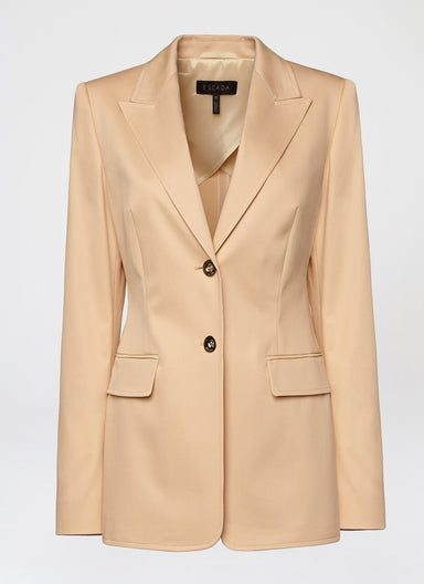 ESCADA Cotton Gabardine Blazer