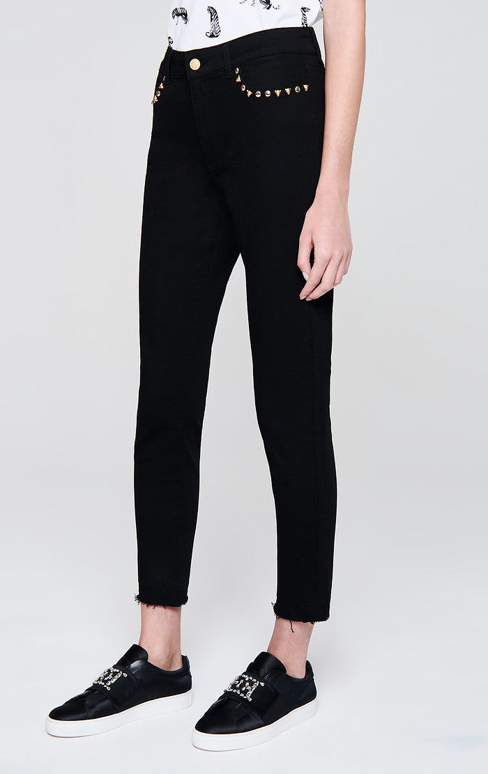 ESCADA Rivet-Embellished Jeans