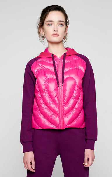 Jersey and Nylon Padded Jacket - ESCADA