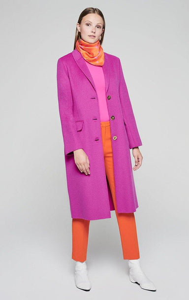 Wool Cashmere Coat - ESCADA