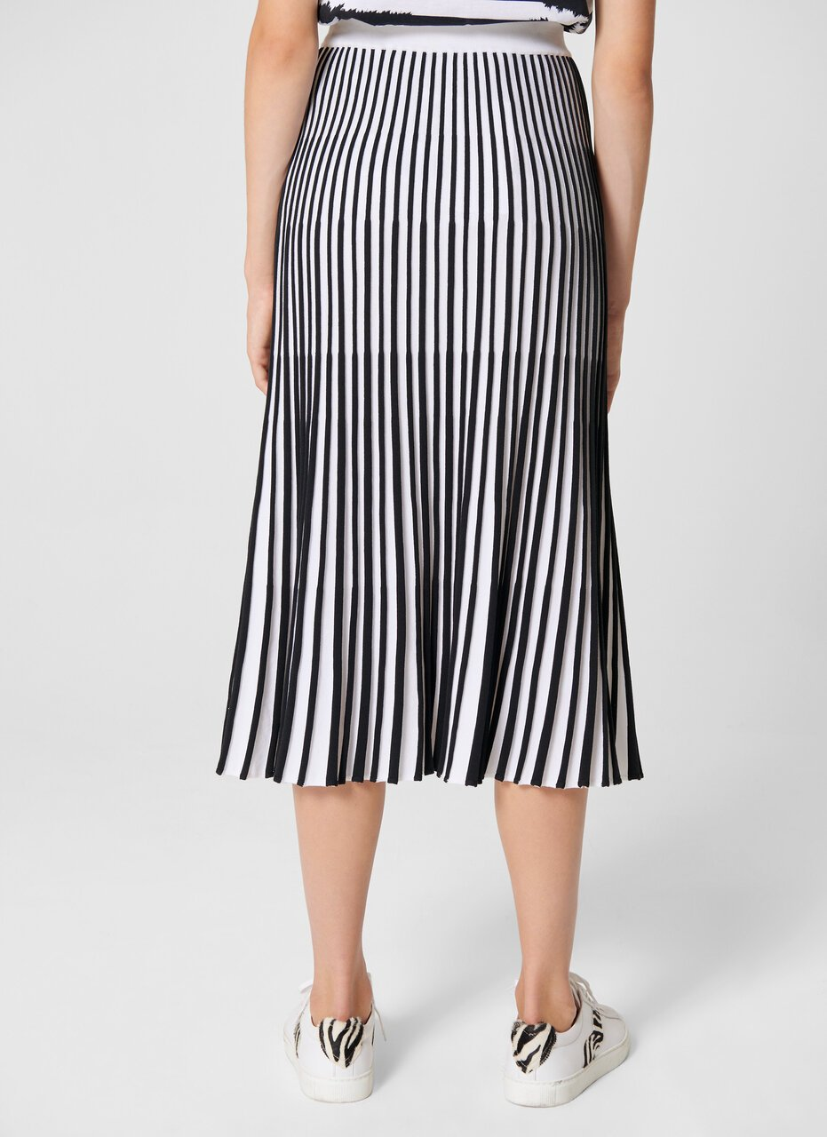 Plissé Knit Midi Skirt - ESCADA
