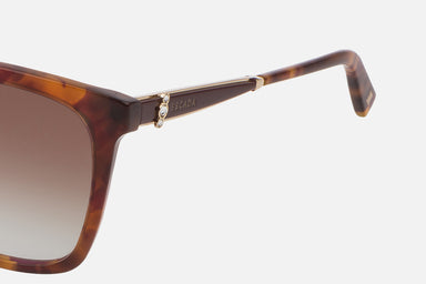Oversized Tortoise Sunglasses - ESCADA