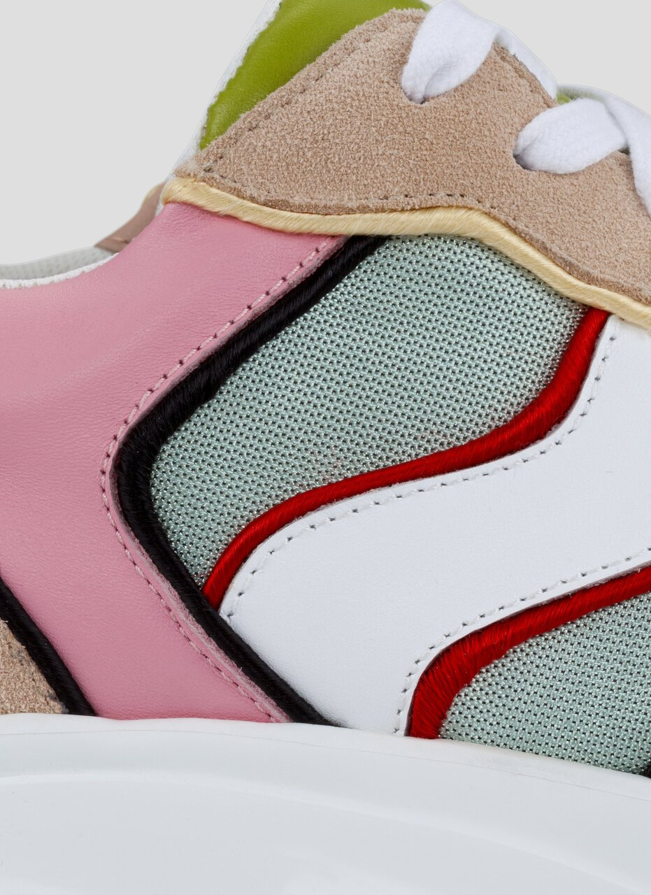 ESCADA Lace Up Running Sneakers