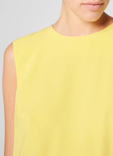 Crepe Plissé Shift Dress - ESCADA
