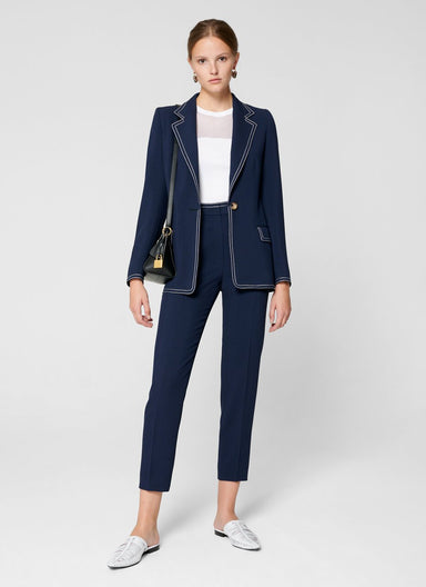ESCADA Wool Blend Cropped Pants