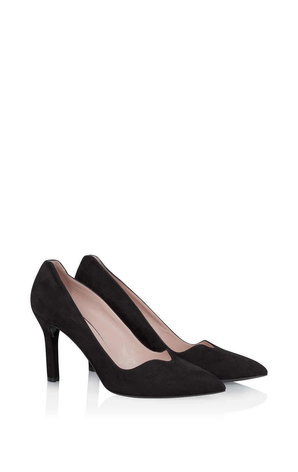 ESCADA Suede Pumps