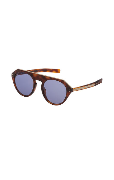 Round Acetate Sunglasses - ESCADA