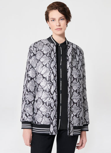 Python Printed Padded Jacket - ESCADA