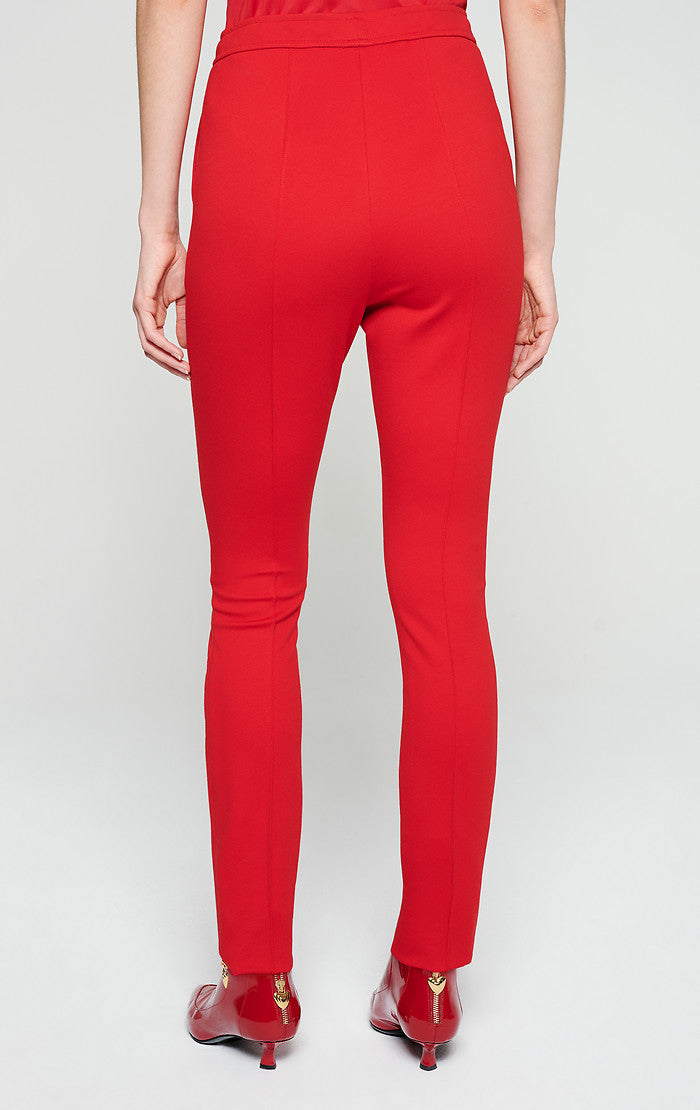 Jersey Zip Detail Pants - ESCADA