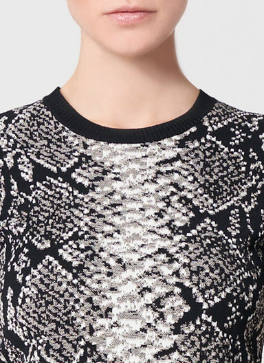 ESCADA Viscose Jacquard Top
