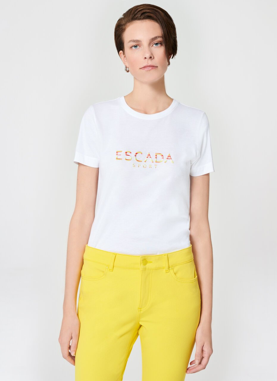 ESCADA Multicolor Logo T-Shirt