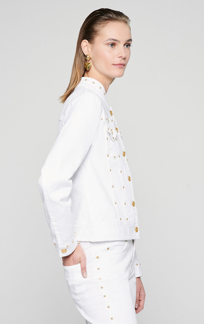 ESCADA Studded Denim Jacket