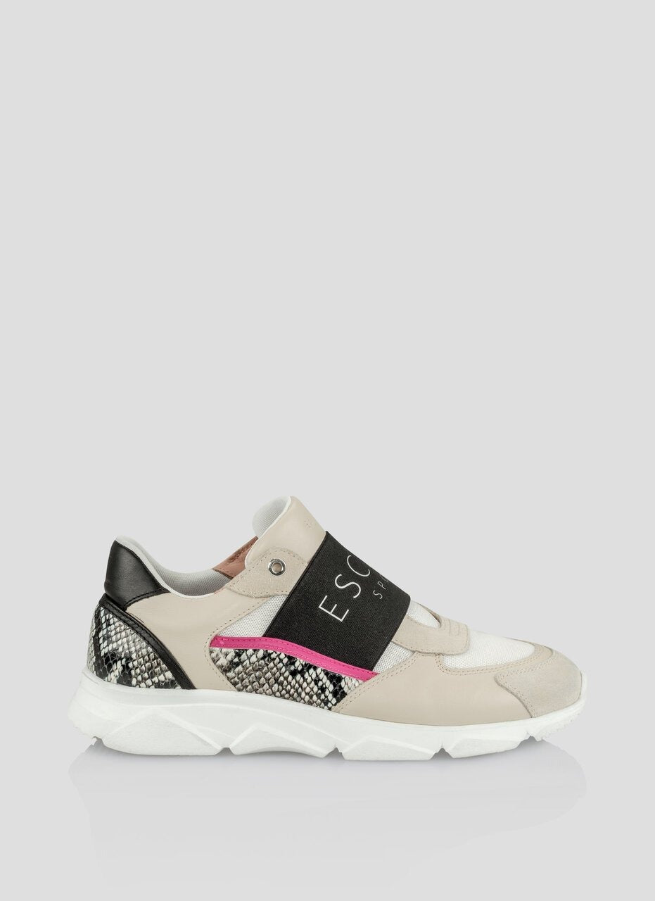 ESCADA Front Strap Running Sneakers