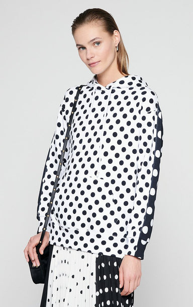 Printed Hooded Sweatshirt - ESCADA
