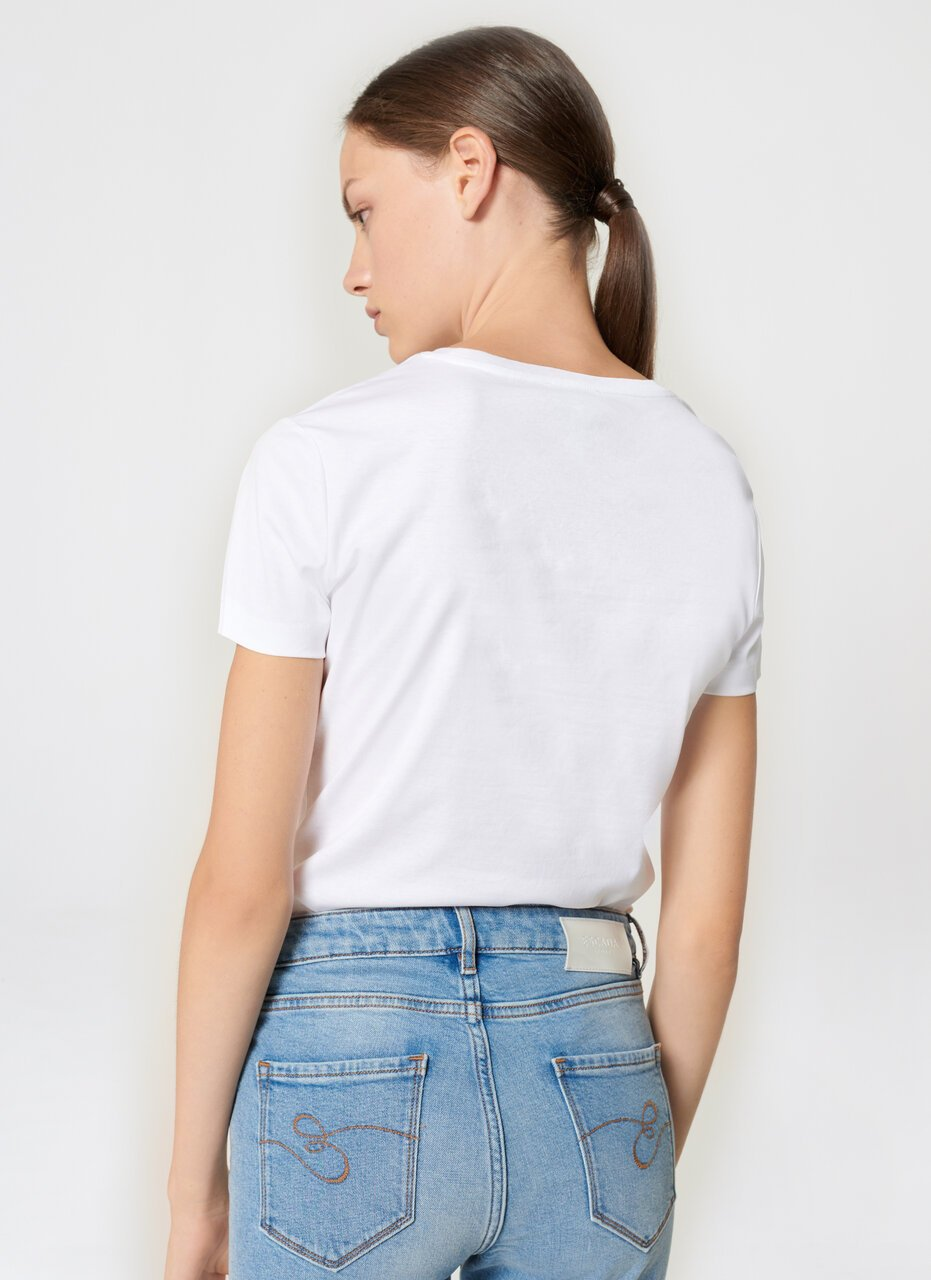 ESCADA Sequin-Embroidered T-shirt