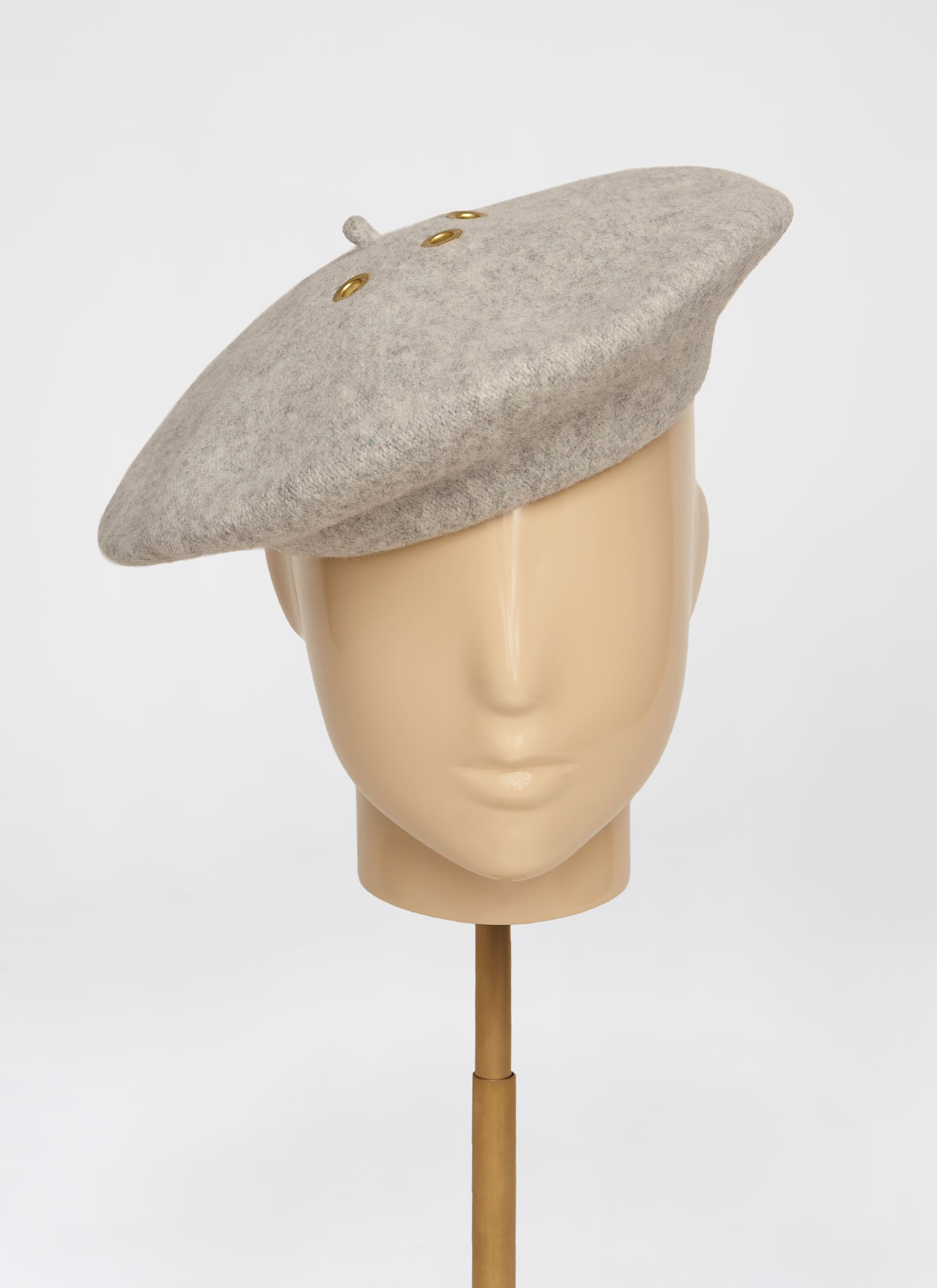 Virgin Wool Beret Hat - ESCADA