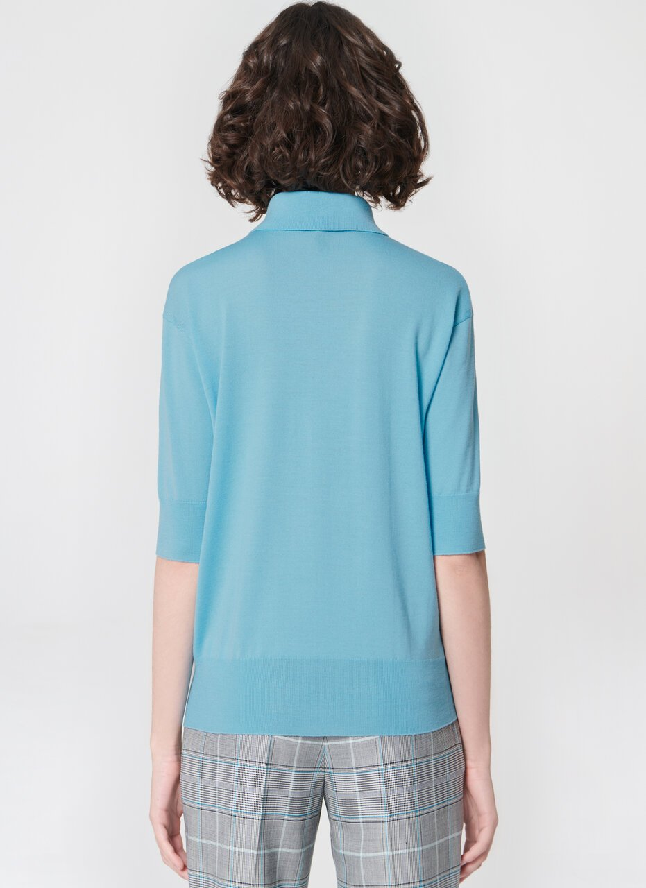 Knit polo sweatshirt - ESCADA