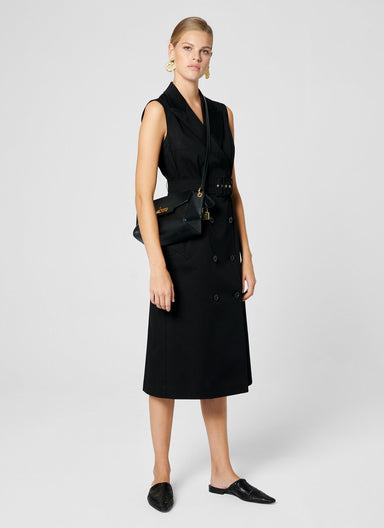 ESCADA Cotton Gabardine Blazer Dress