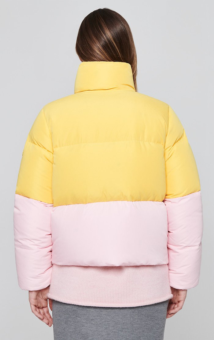 ESCADA Color Block Down Jacket
