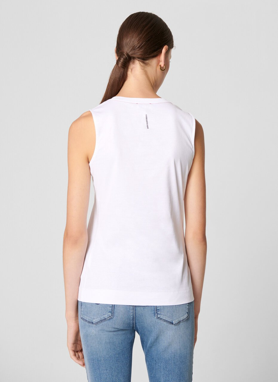 ESCADA Cotton Tank Top