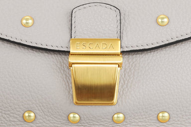 Studded Leather Crossbody Bag - ESCADA