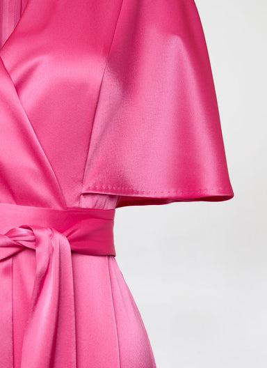 Fluent satin gown - ESCADA