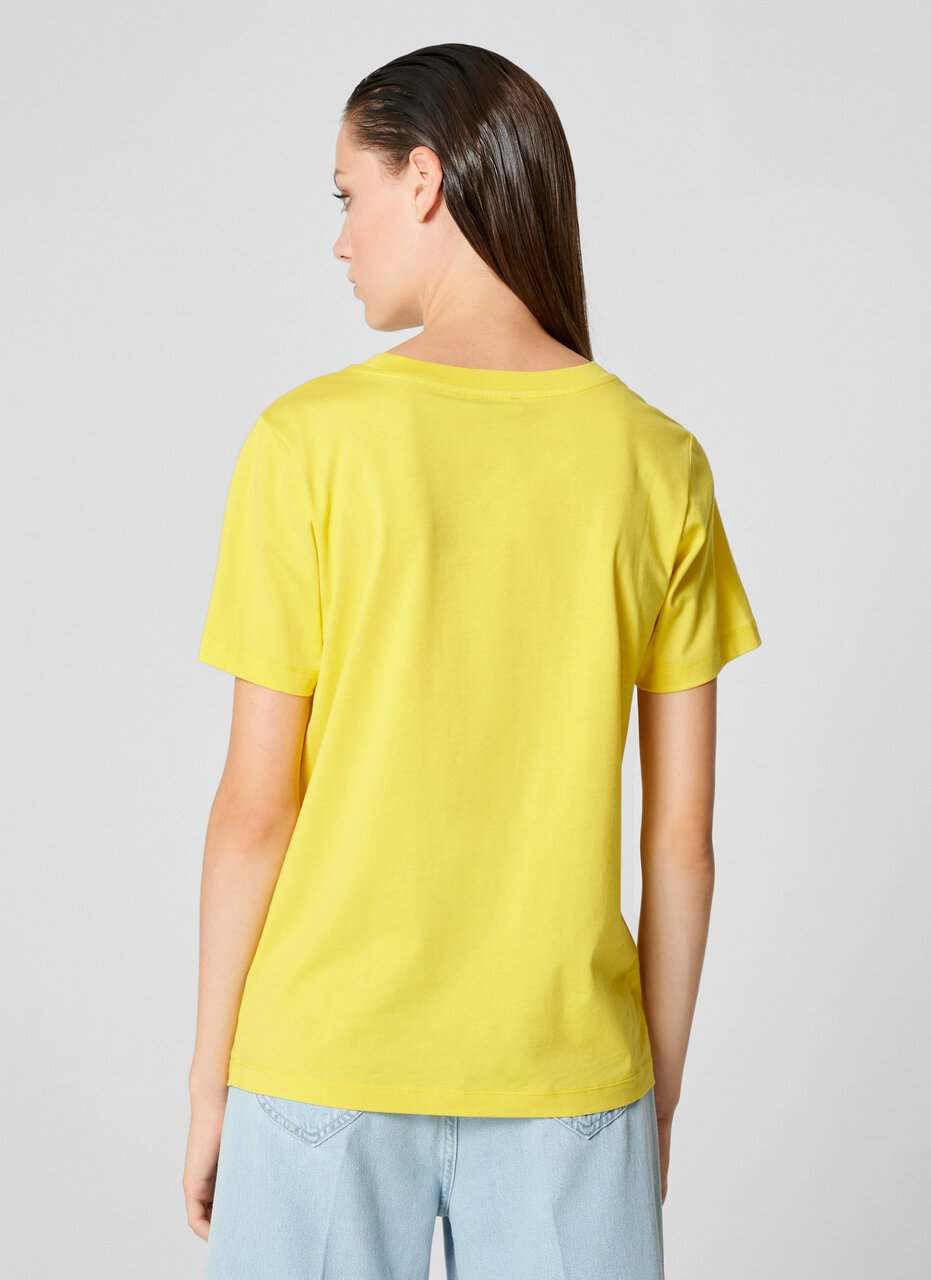 Metallic Logo T-shirt - ESCADA